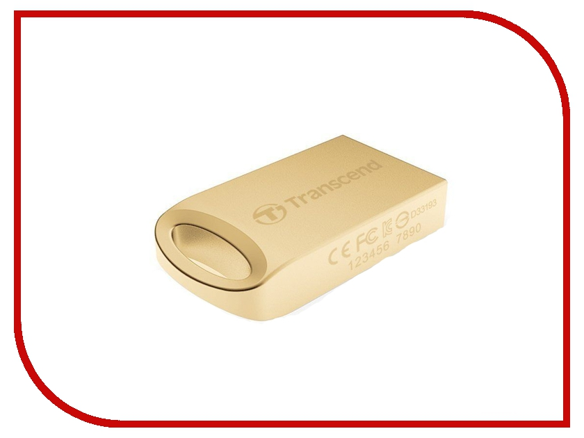 USB Flash Drive 8Gb - Transcend Jetflash 510 Gold TS8GJF510G usb flash drive 8gb transcend jetflash 790 ts8gjf790k
