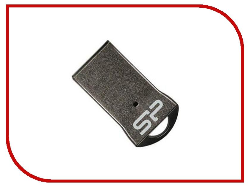 USB Flash Drive 64Gb - Silicon Power Touch T01 Black SP064GBUF2T01V1K<br>