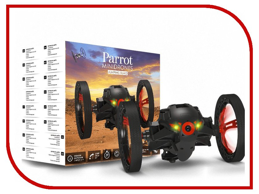 Игрушка Parrot Jumping Sumo Black<br>