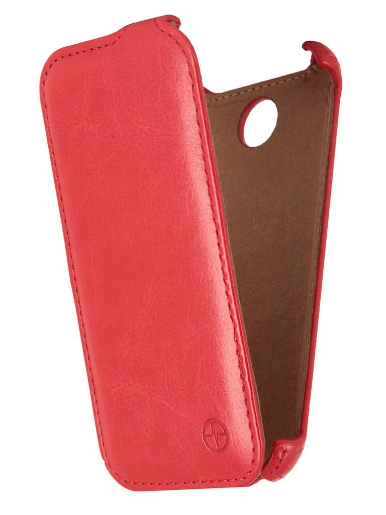 Аксессуар Чехол Lenovo A516 Pulsar Shellcase Red PSC0124