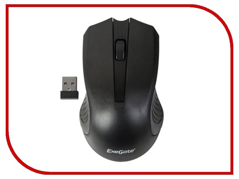 Мышь беспроводная ExeGate SR-9015B Black