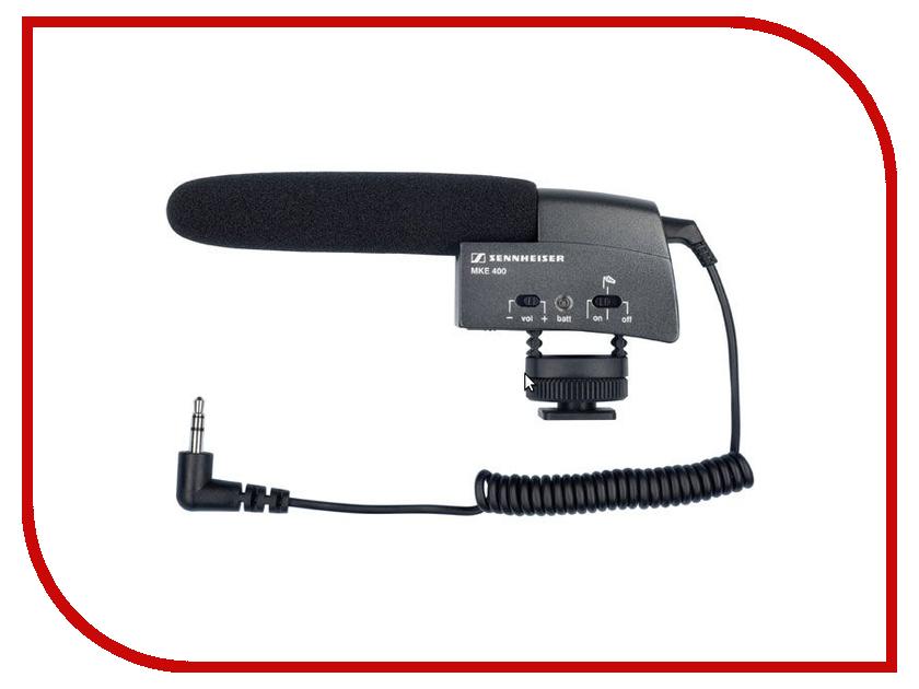 Микрофон Sennheiser MKE 400 502047 вокальный микрофон sennheiser e 835 s