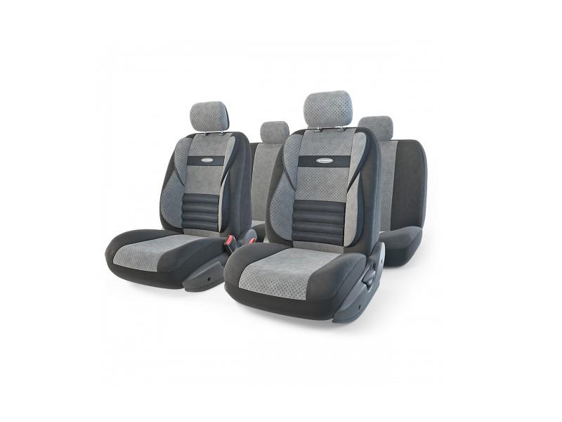 цена на Чехлы на сиденье Autoprofi Comfort Combo Black/Dark-Grey CMB-1105 BK/D.GY M