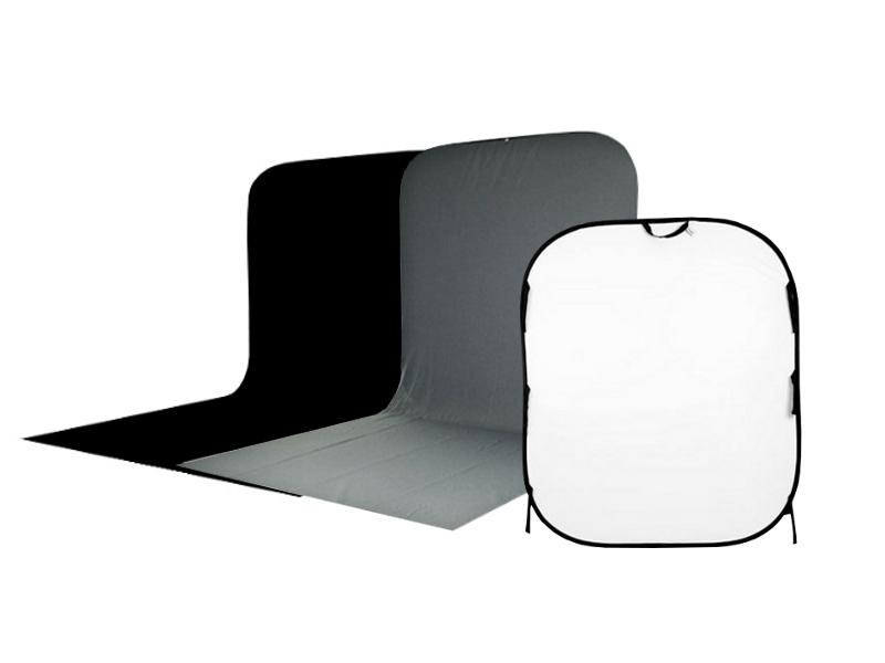 Фон Visico BP-026 Black/White/Grey<br>