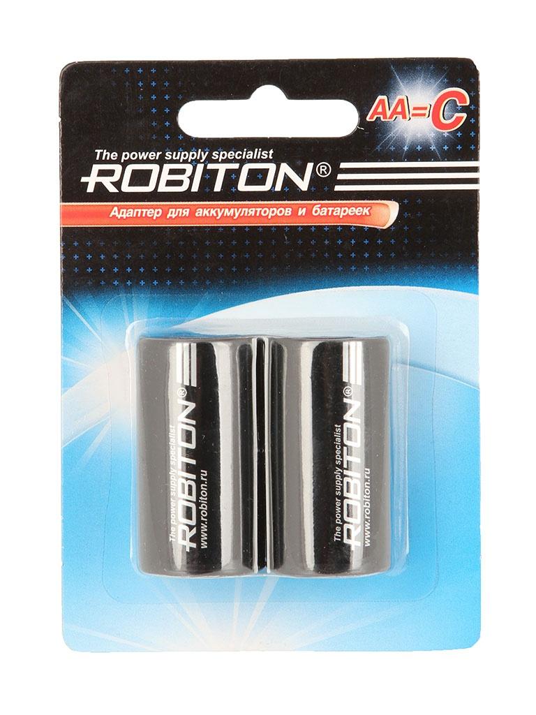Аксессуар Robiton Adaptor-AA-C BL2 (2 штуки) - адаптер C