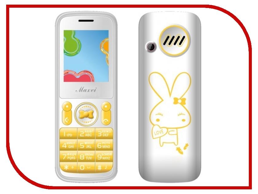 Сотовый телефон Maxvi J1 Yellow