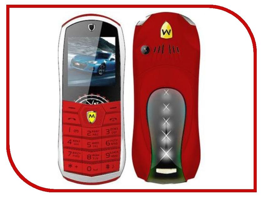 Сотовый телефон Maxvi J2 Red<br>