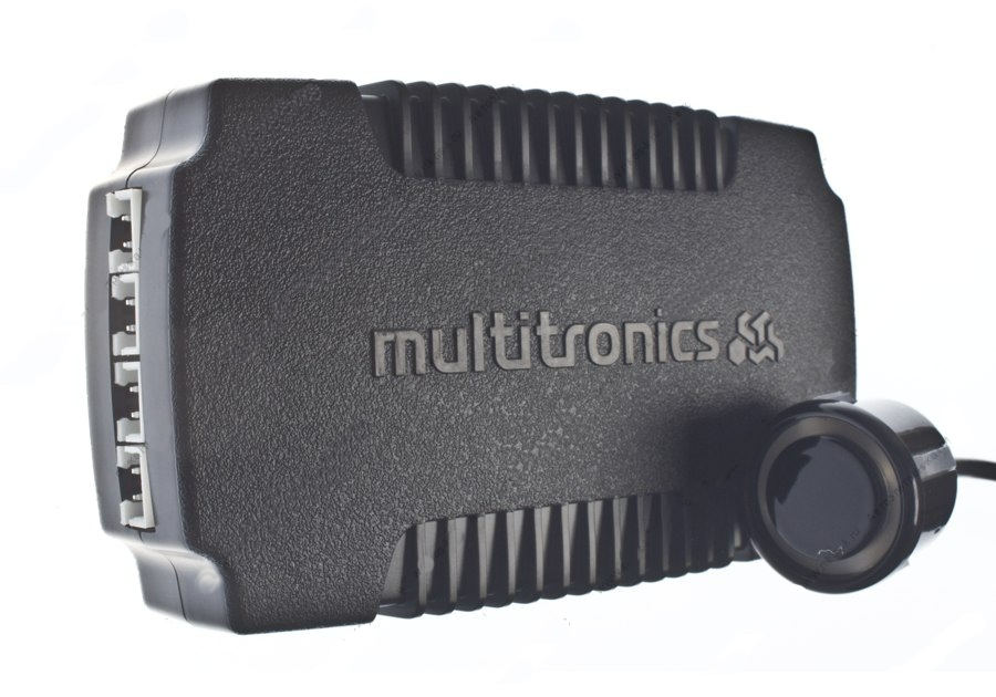 Парктроник Multitronics PU-4TC Grey