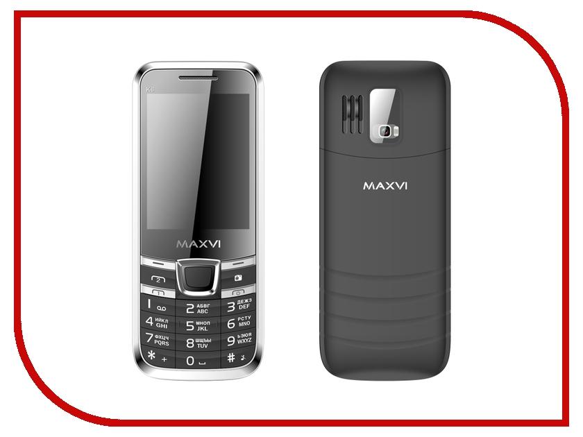 Сотовый телефон Maxvi K6 Black<br>