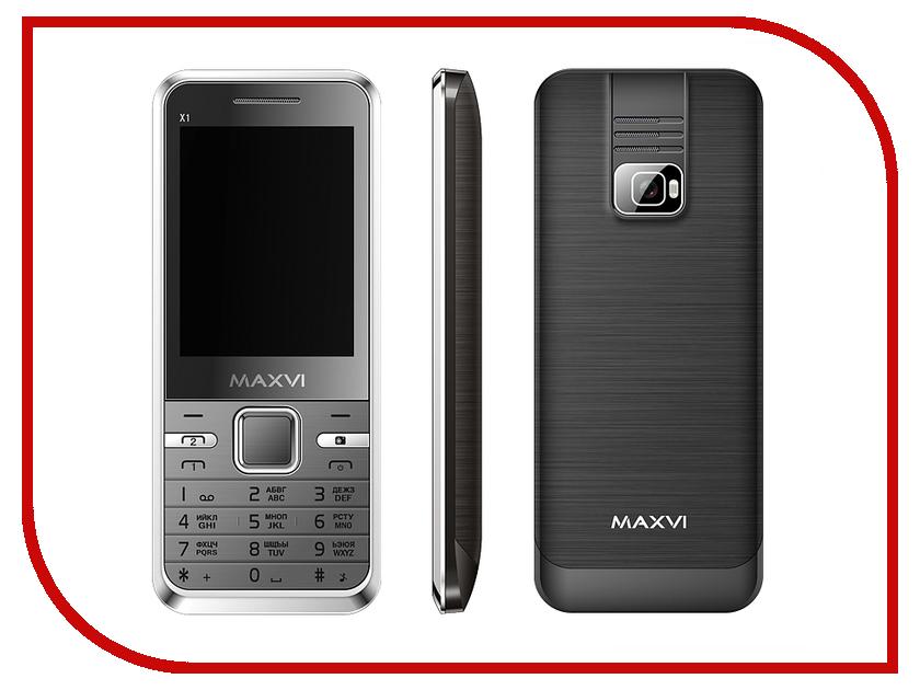 Сотовый телефон Maxvi X1 Black