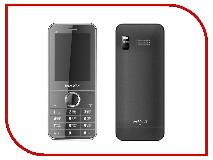 Сотовый телефон Maxvi X500 Black сотовый телефон maxvi c20 black