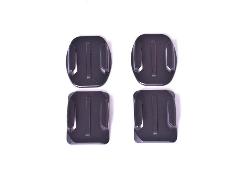 цена на Аксессуар Набор площадок и 3М-стикеров Dicom ExCMT05 для Gopro Hero3+/3/2/1