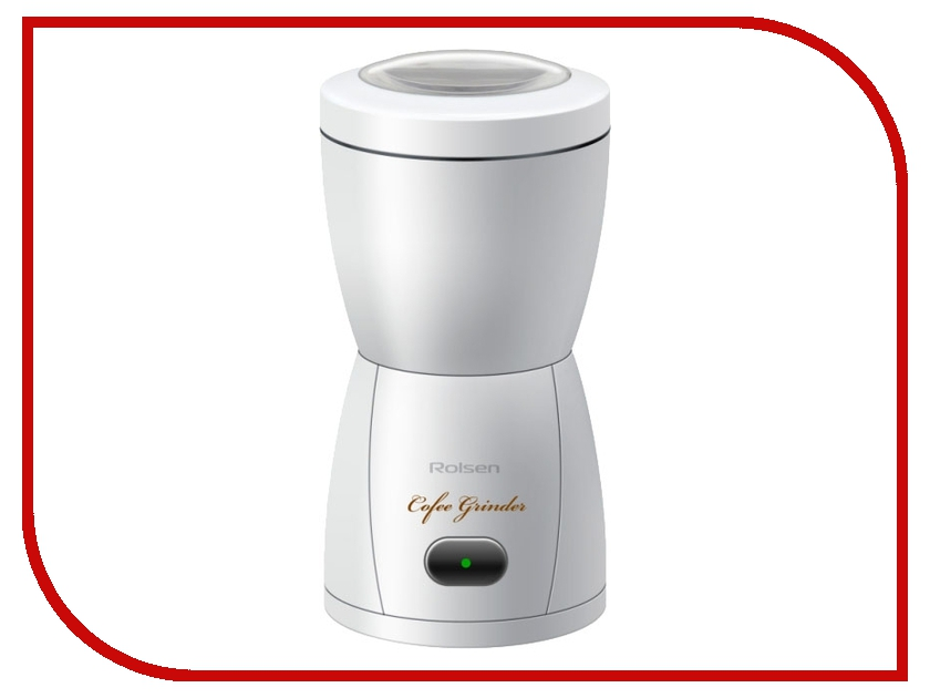 Кофемолка Rolsen RCG-150 White<br>