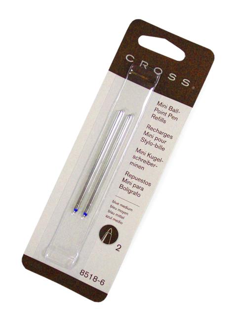 Аксессуар Cross MBlue для Tech3+ Tech4 AutoCross 8518-6 2шт - стержень шариковый