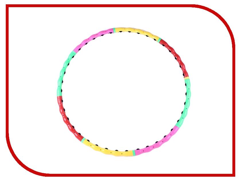 Массажный обруч ХулаХуп Onlitop 276117 с резиновыми шипами массажный обруч хулахуп onlitop 276117 с резиновыми шипами