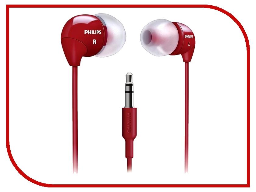 Наушники Philips SHE3590 Red<br>
