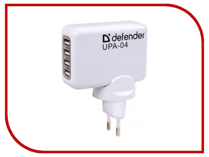 Зарядное устройство Defender UPA-04 4xUSB 83521<br>