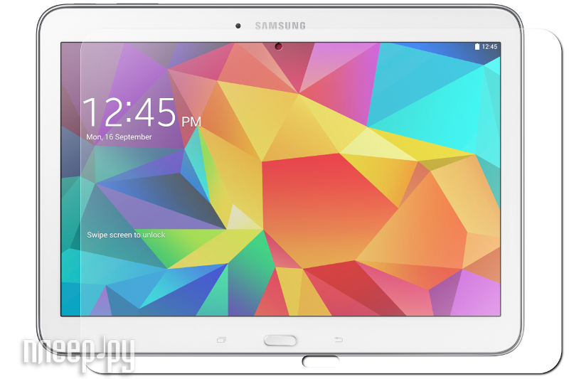 Аксессуар Стекло закаленное Samsung Galaxy Tab 4 10.1 DF sSteel-06