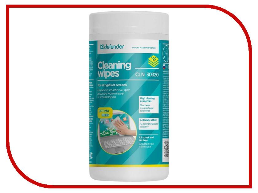 Аксессуар Салфетки чистящие Defender Eco CLN 30320 салфетки для поверхностей defender cln 30103 pro 30103