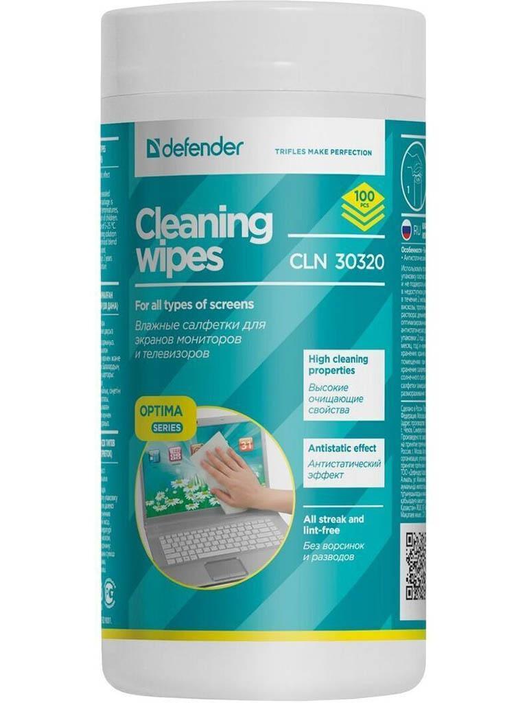 Салфетки чистящие Defender Eco CLN 30320