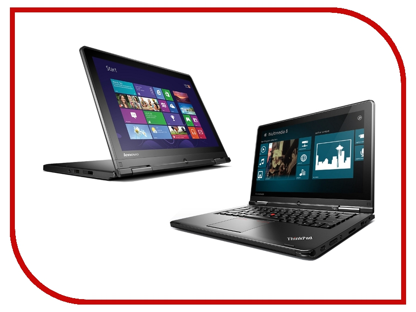 ������� Lenovo ThinkPad Yoga S100 20CD00D7RT Intel Core i3-4030U 1.9 Ghz/4096Mb/500Gb/No ODD/Intel HD Graphics 4400/Wi-Fi/Bluetooth/Cam/12.5/1920x1080/Touchscreen/Windows 8.1 64-bit