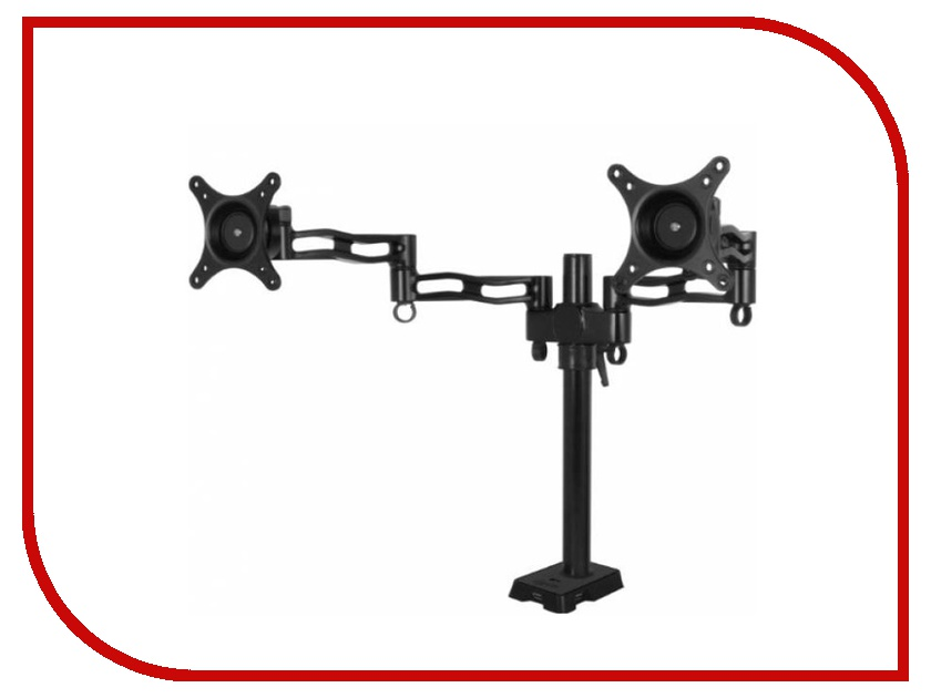 Кронштейн Arctic Z-2 Dual Monitor Arm ORAEQ-MA004-GBA01 Black охлаждение arctic cooling accelero xtreme iv dcaco v80001 gba01