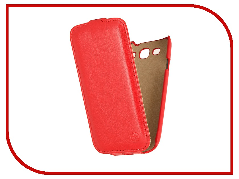Аксессуар Чехол Samsung GT-i9300 Galaxy S III Pulsar Shellcase Red PSC0104 аксессуар чехол samsung galaxy core prime 360h 361h ds pulsar shellcase white psc0808