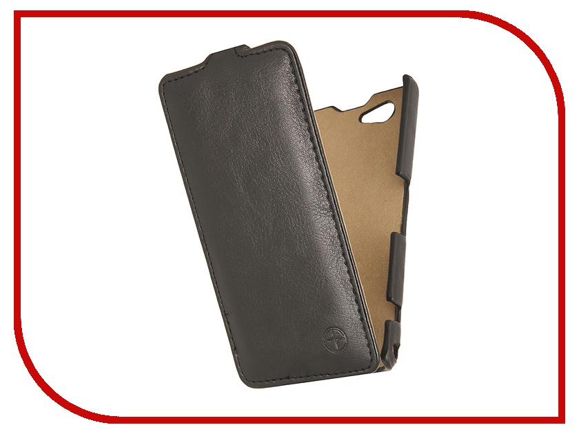 Аксессуар Чехол Sony Xperia Z1 Compact Pulsar Shellcase Black PSC0114