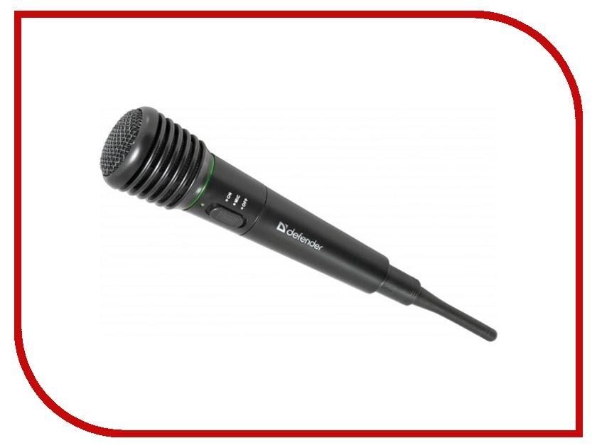 Микрофон Defender MIC-142 64142 микрофон defender mic 109 черный кабель 1 8м 64109