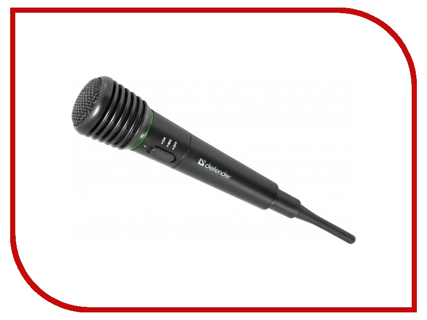 Микрофон Defender MIC-142 64142 микрофон defender mic 129 64129