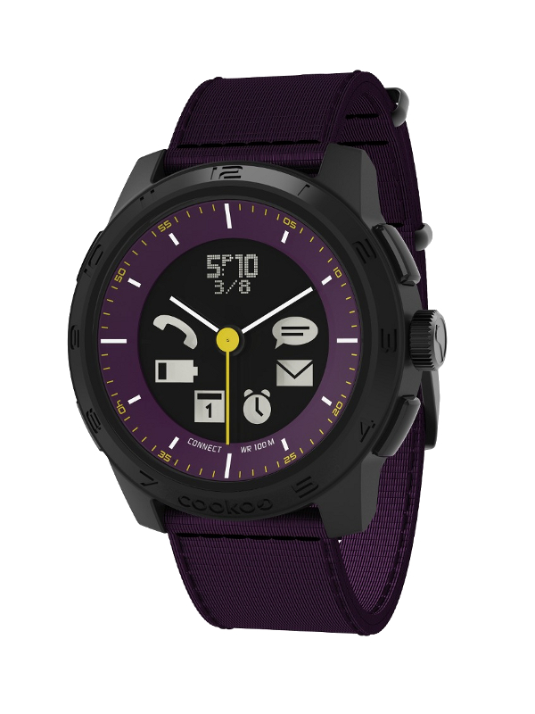 Умные часы Cookoo Watch Urban Explorer Version 2 CK2.0-005-01 Purple