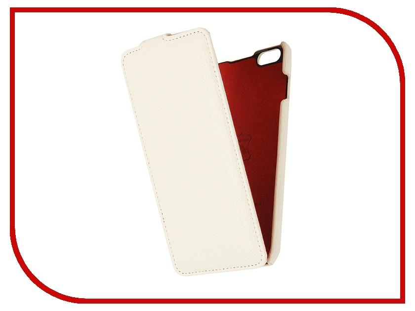 Аксессуар Чехол iRidium 4.7-inch for iPhone 6 натуральная кожа White<br>
