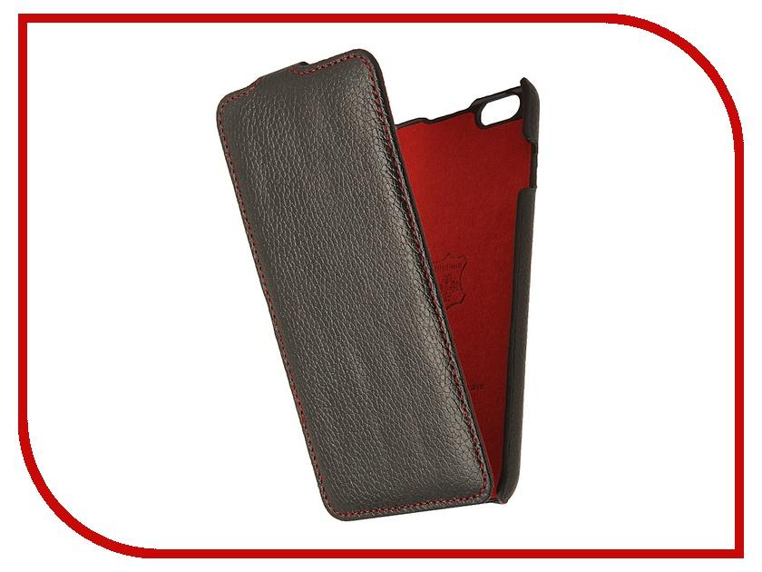 Аксессуар Чехол iRidium 5.5-inch for iPhone 6 Plus натуральная кожа Black<br>