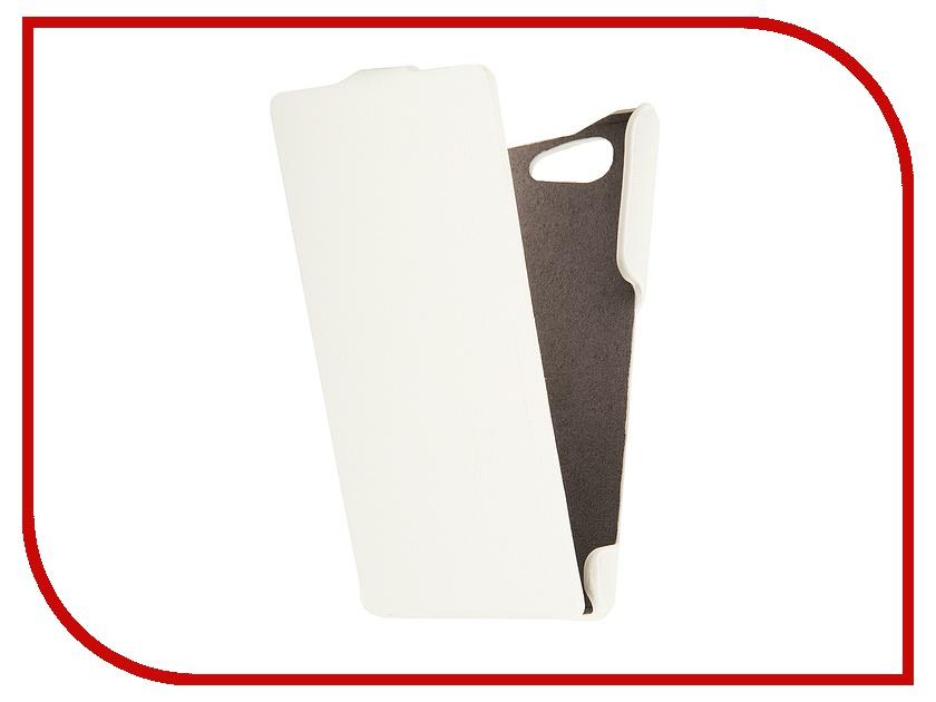 Аксессуар Чехол Sony Xperia Z3 Compact iBox Premium White<br>