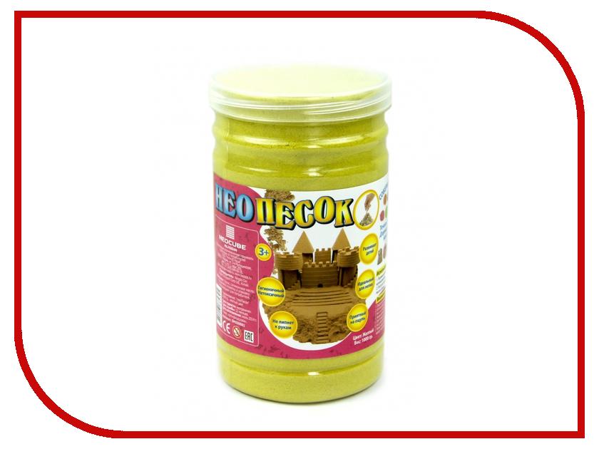 Набор для лепки FamilyFun НеоПесок 1000г SMSD0001 Yellow<br>