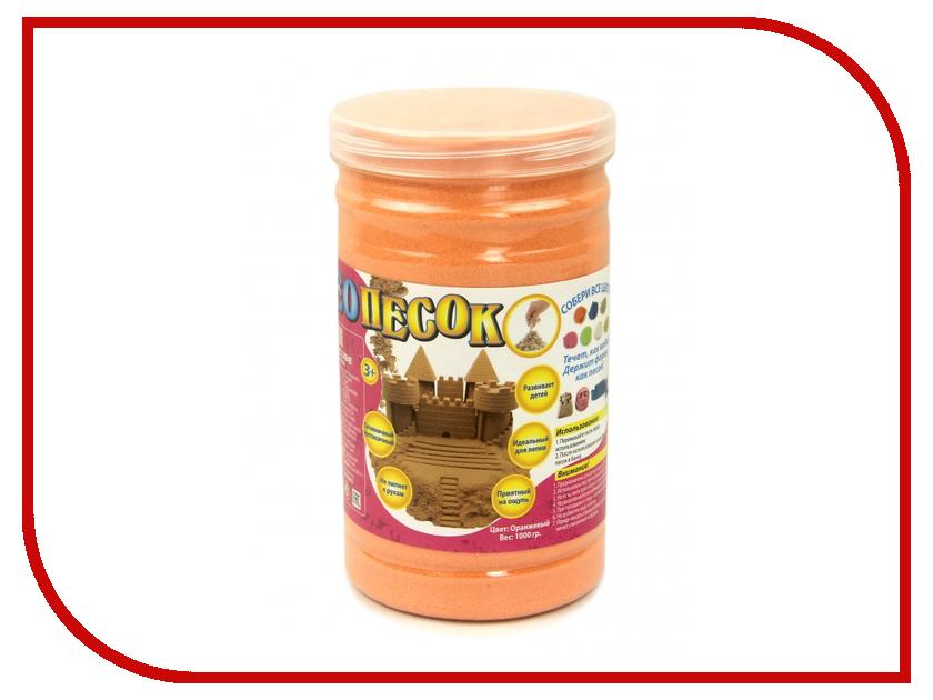 Набор для лепки FamilyFun НеоПесок 1000г SMSD0003 Orange