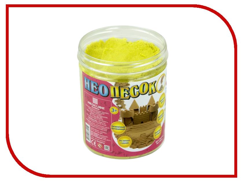 Набор для лепки FamilyFun НеоПесок 500г SMSD0016 Yellow