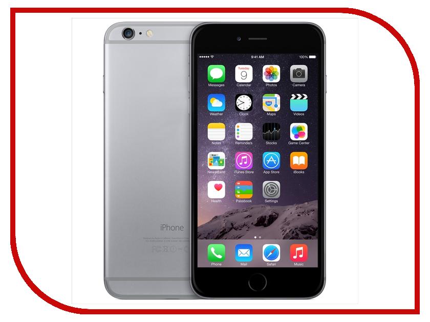 Сотовый телефон APPLE iPhone 6 Plus - 64Gb Space Gray MGAH2RU/A<br>