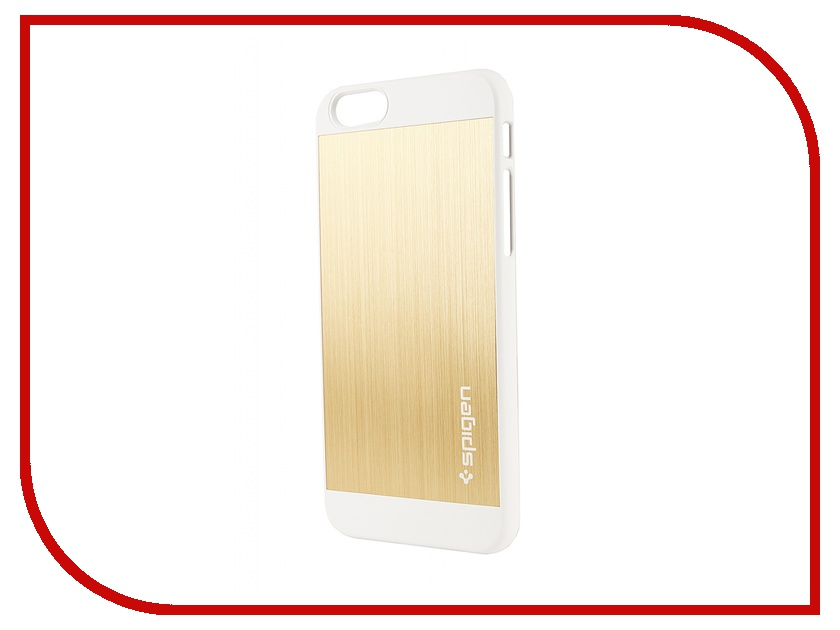 Аксессуар Чехол SGP Aluminum Fit (PET) 4.7-inch for iPhone 6 Champagne Gold SGP10945<br>