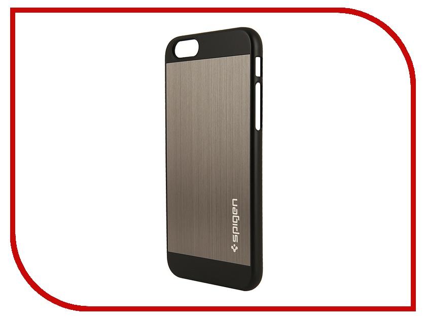 ��������� ����� SGP Aluminum Fit (PET) 4.7-inch for iPhone 6 Space Grey SGP10948