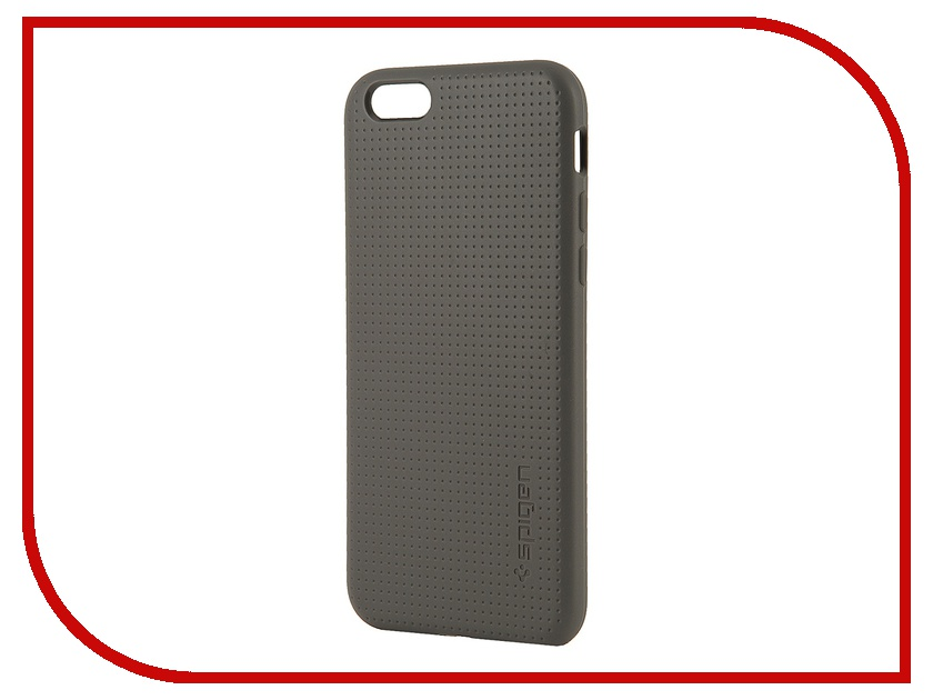 Аксессуар Чехол SGP Capsule Series (PET) для iPhone 6 4.7-inch Grey SGP11020<br>