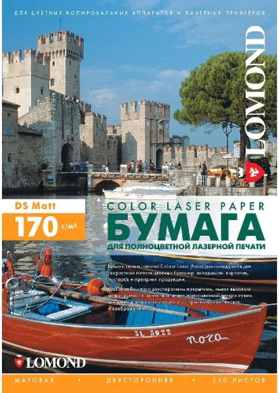Фотобумага Lomond A4 170g/m2 матовая двусторонняя 250 листов 300241