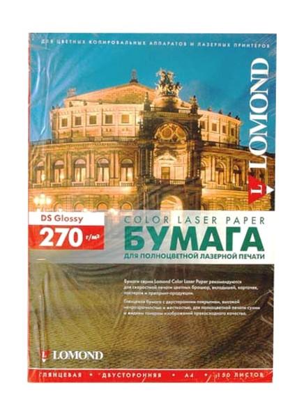 Фотобумага Lomond 0310543 глянцевая A4 270g/m2 двухсторонняя 150 листов