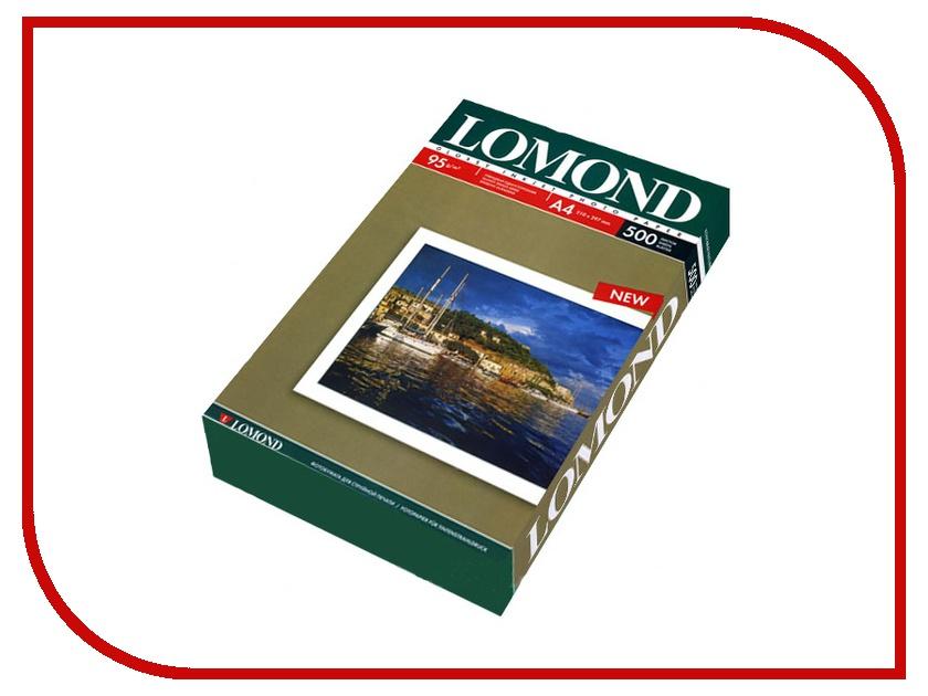 Фотобумага Lomond 0102146 глянец 85г/м2 A4 500 листов<br>