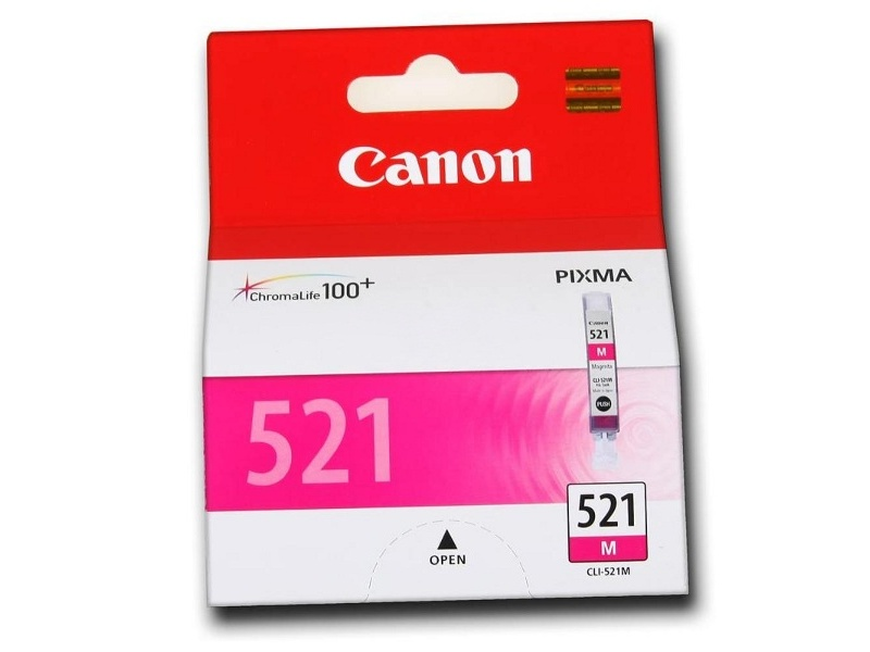Аксессуар Canon CLI-521M для Pixma iP3600/iP4600/MP540/MP620/MP630/MP980 Purple