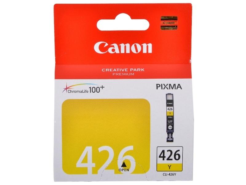 Картридж Canon CLI-426Y Yellow для iP4840/MG5140/MG5240/MG6140/MG8140 4559B001