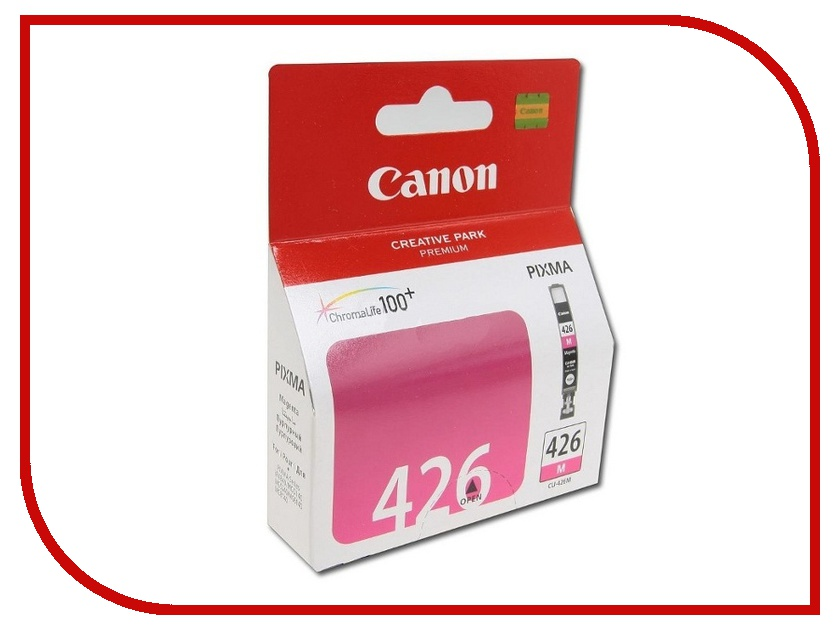 Картридж Canon CLI-426M Magenta‎ для iP4840/MG5140 4558B001 картридж для принтера colouring cg cli 426c cyan