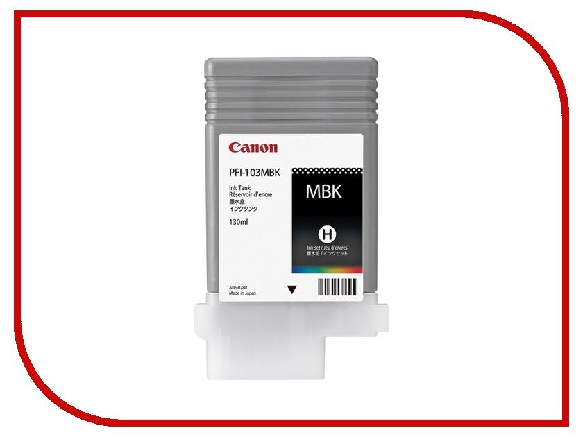 Картридж Canon PFI-103 MBK Black для iPF5100 2211B001<br>