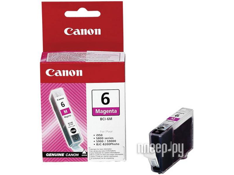 Аксессуар Canon BCI-6M для Pixma 4000/5000/6000/MP750/MP780 Purple