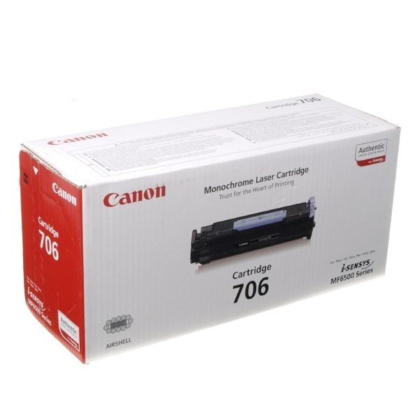 Аксессуар Canon 706 для MF6580PL/6560PL/6550/6540PL 5000стр Black